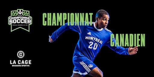 Championnat canadien soccer masculin U SPORTS 2019 - 7 au 10 novembre