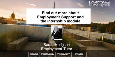 Find out more about Employment Support and the Internship