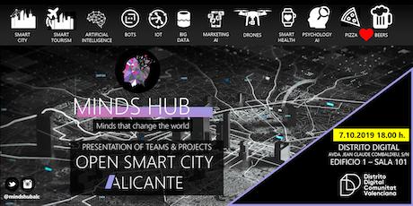 OPEN SMART CITY ALICANTE : PROJECTS & TEAMS entradas
