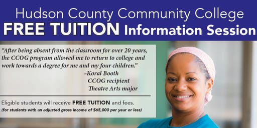 Hudson County Community College Free Tuition Information Session