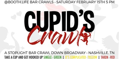 Cupid's Crawl Nashville Valentine's Weekend Bar Crawl
