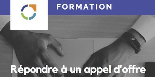 FORMATION: REPONDRE A UN APPEL D'OFFRE