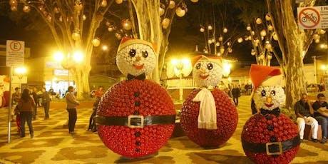 Natal encantado em Guararema com city tour histórico ingressos