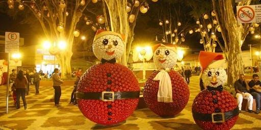 Natal encantado em Guararema com city tour histórico