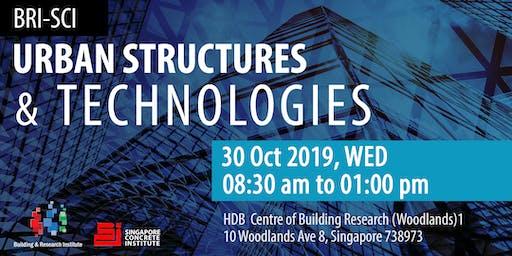 BRI-SCI: Urban Structures & Technologies 2019