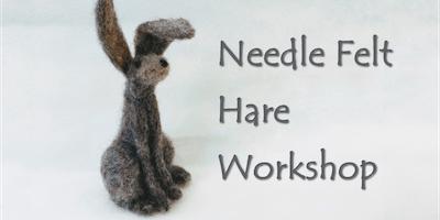 Needle Felt Hare Making