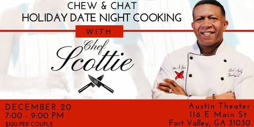 Chew & Chat ~ Holiday Date Night Cooking