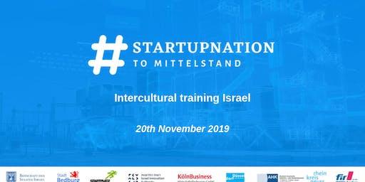 #SNTM Workshop - Intercultural training Israel