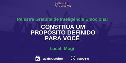 Palestra Gratuita: Construa um Propósito Definido para Você - 23 de Outubro em Mogi
