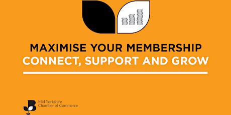 Maximise Your Membership tickets