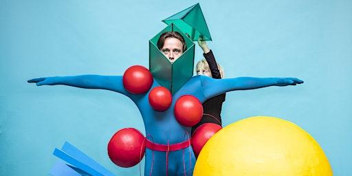 't Zonnehuis op zijn kop: Het Grote Kleurenballet (4+) - onderdeel van Familiefestival Kleurrijk