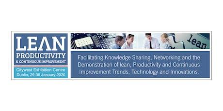Lean, Productivity & Continuous Improvement tickets