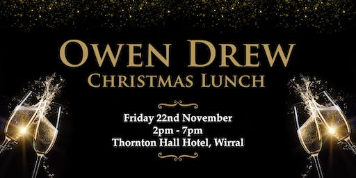 Owen Drew Christmas Lunch at Thornton Hall Hotel - Wirral