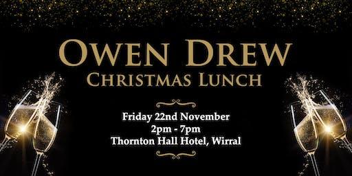 Owen Drew Christmas Lunch at Thornton Hall Hotel - Wirral
