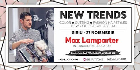 Masterclass Max Lamparter - New Trends tickets