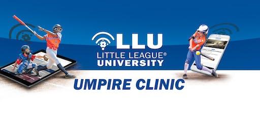 2020 Little League International HQ - Umpire Mechanics Clinic
