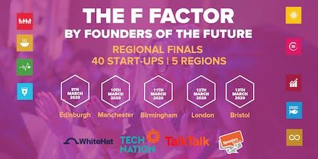 The F Factor: Edinburgh Regional Final 2020 tickets