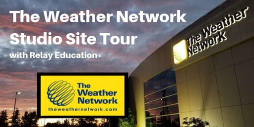 The Weather Network Studio Tour