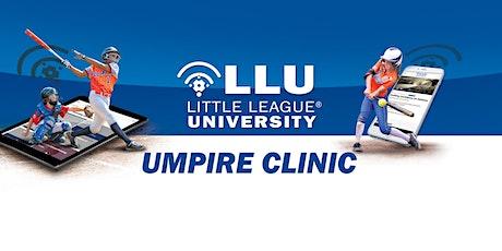 2020 Little League International - Umpire School tickets