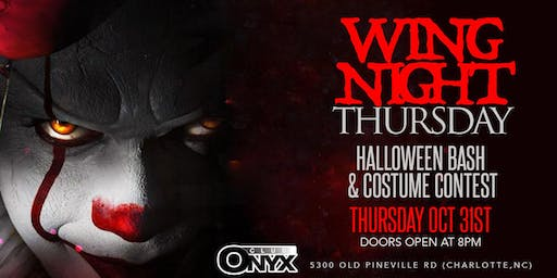 Club Onyx Halloween Bash and Costume Contest