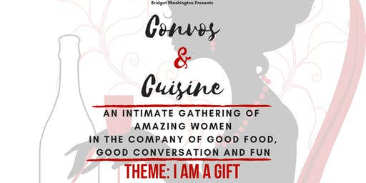 Convos & Cuisine - EVENT CANCELLED