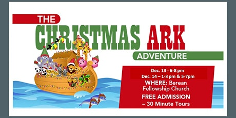 The Christmas Ark Adventure tickets