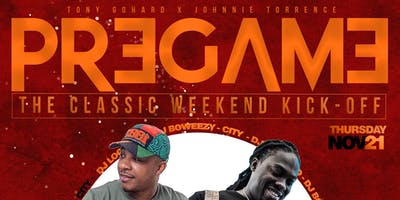 THE PREGAME - A CLASSIC WEEKEND KICKOFF PARTY