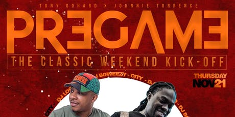 THE PREGAME - A CLASSIC WEEKEND KICKOFF PARTY tickets
