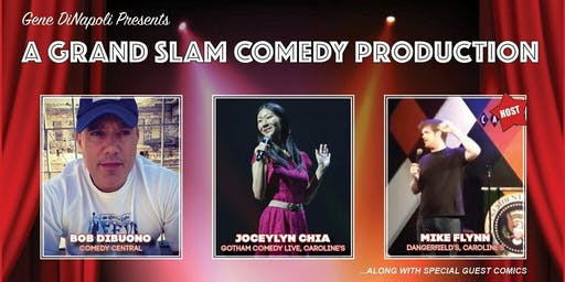 Bob DiBuono Comedy with Jocelyn Chia and Mike Flynn and specials guests