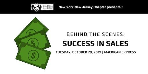 Behind the Scenes: Success in Sales