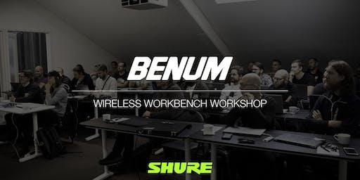 BENUM AB - Avancerad Träning - Att arbeta seriöst med trådlösa mikrofonsystem - MALMÖ