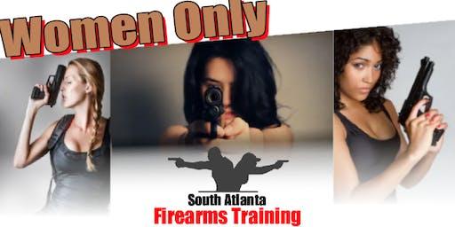 Women Only Firearms Class by South Atlanta Firearms  Training Co.