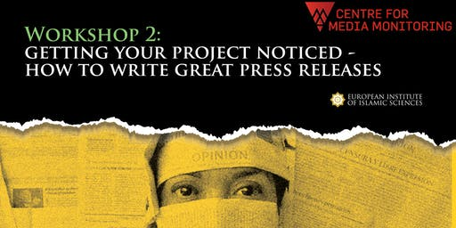 Getting Your Project Noticed: How to write great press releases