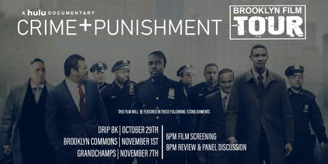 Crime + Punishment: Brooklyn Film Tour  tickets