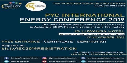 PYC INTERNATIONAL ENERGY CONFERENCE 2019