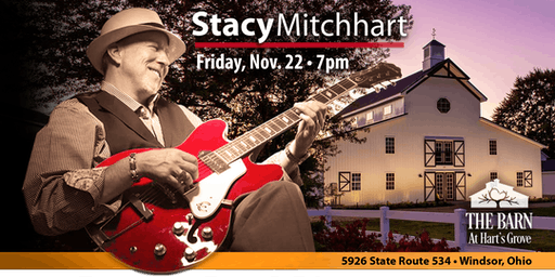 """Stacy Mitchhart """"Solo Tour"""" Live at The Barn at Hart's Grove in Windsor, OH"""