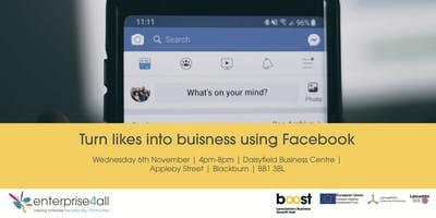 Turn likes into Business using Facebook