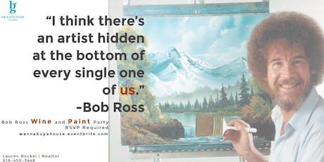 Make & Take Craft Night (Bob Ross Wine and Paint) tickets