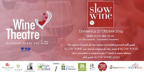 WINE THEATRE: different stage for wine - Verona biglietti