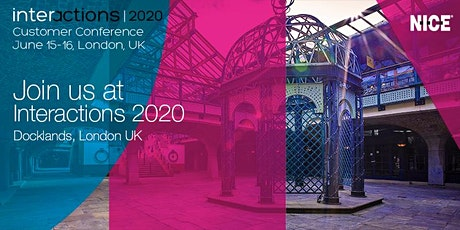 Interactions EMEA 2020 tickets