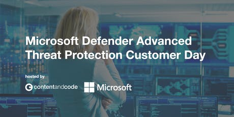 Microsoft Defender Advanced Threat Protection - Customer Day tickets