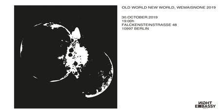 Wemaisnone present:  Old World New World Runway Show tickets