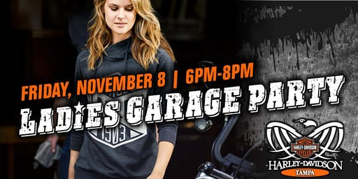 Ladies Garage Party at Harley-Davidson of Tampa