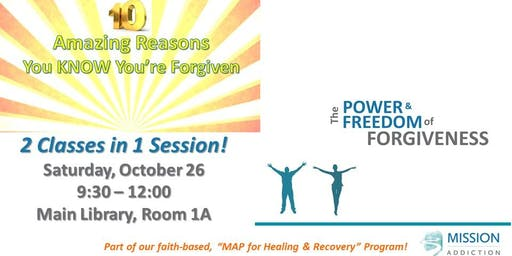 2 Forgiveness Workshops in 1 Session!