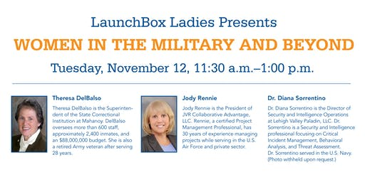 LaunchBox Ladies Presents: Women in the Military and Beyond