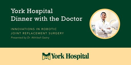 Innovations in Robotic Joint Replacement Surgery With Dr. Akhilesh Sastry tickets