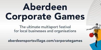 Aberdeen Corporate Games  2020 Launch