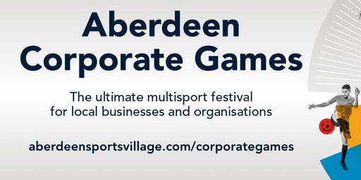 Aberdeen Corporate Games  2020 Launch