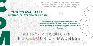 The Colour of Madness: Book Signing & Q&A