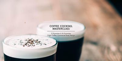 Coffee Cocktail Masterclass